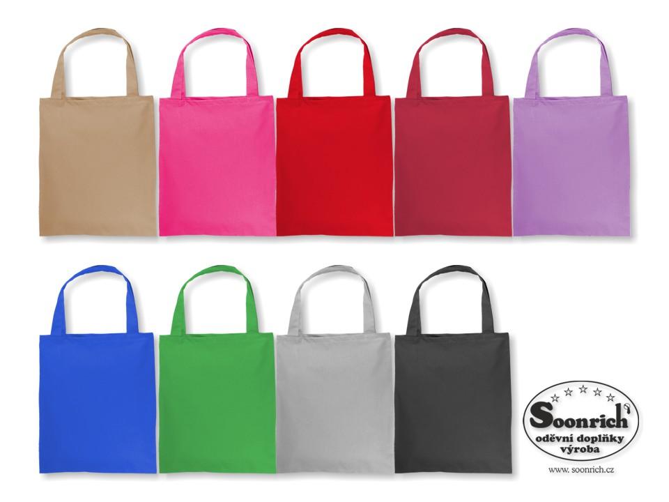 tašky jednobarevné